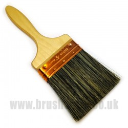 "4"" Grey Bristle Wall Brush"