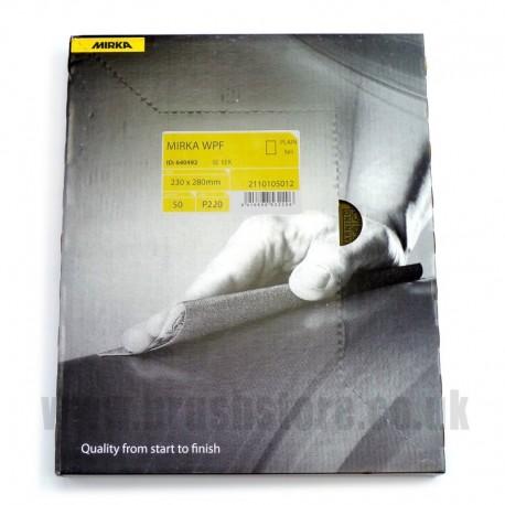 Wet & Dry Glasspaper 120 Medium Grit