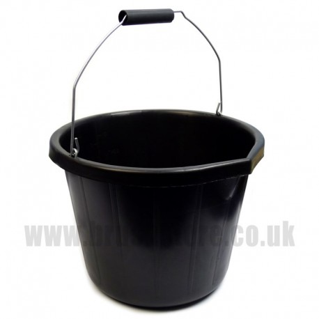 Black PVC Heavy Duty Pail