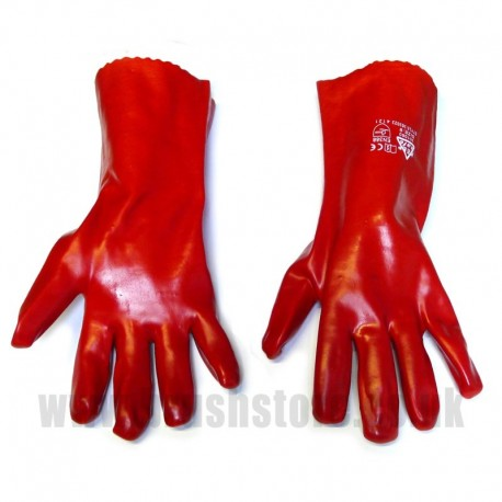 PVC Gauntlet Gloves