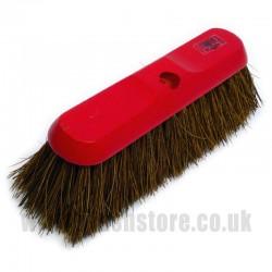 """11"""" Bassine Fibre Broom Head"""