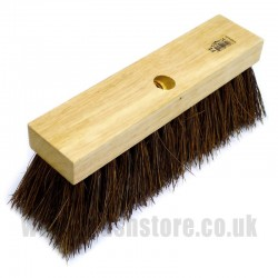 "12"" Bassine Fibre Broom Head"