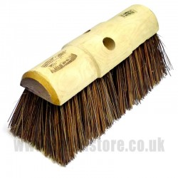 "13"" African Bass Fibre Broom Head"