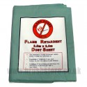 12' x 9' Flame Guard Dust Sheet