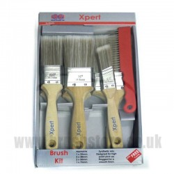 Clow Xpert Synthetic 6 Brush Pack