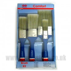 Clow Comfort Synthetic 6 Brush Pack