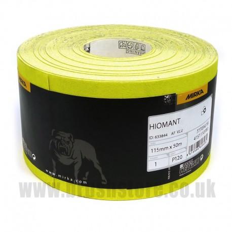 100mm x 50m Aluminium Oxide Roll 120 Super Fine Grit