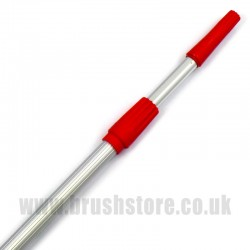 Push-On Cone Fit Aluminium Extension Pole