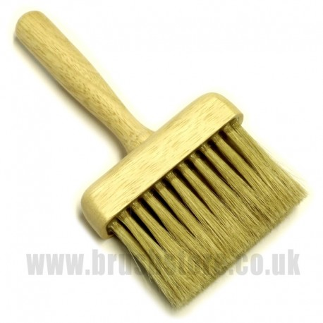 White Bristle Dusting Brush