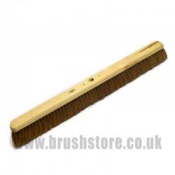 "36"" Soft Natural Coco Fibre Platform Broom"