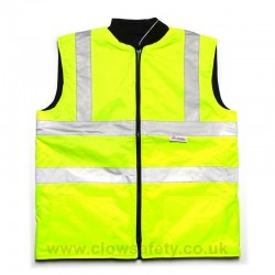 Hi-Visibility Reversible Body Warmer