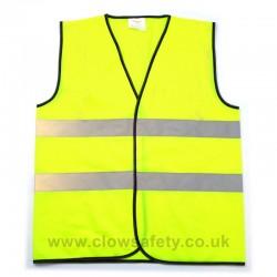 Hi-Visibility Polyester Waistcoat