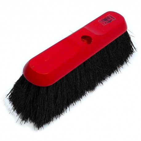 "12"" Black Flagged Fibre Broom Head"