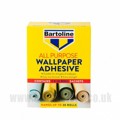 All Purpose Wallpaper Adhesive - 3 Pack